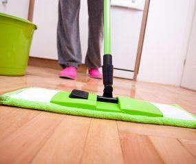 cleaning floor end of tenancy services