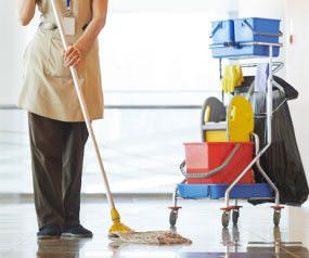 commercial cleaning services business